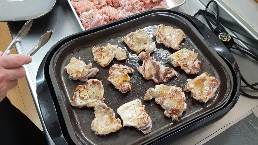 鹿児島 デイサービス スター倶楽部 昼食用食材 鶏の胸肉1