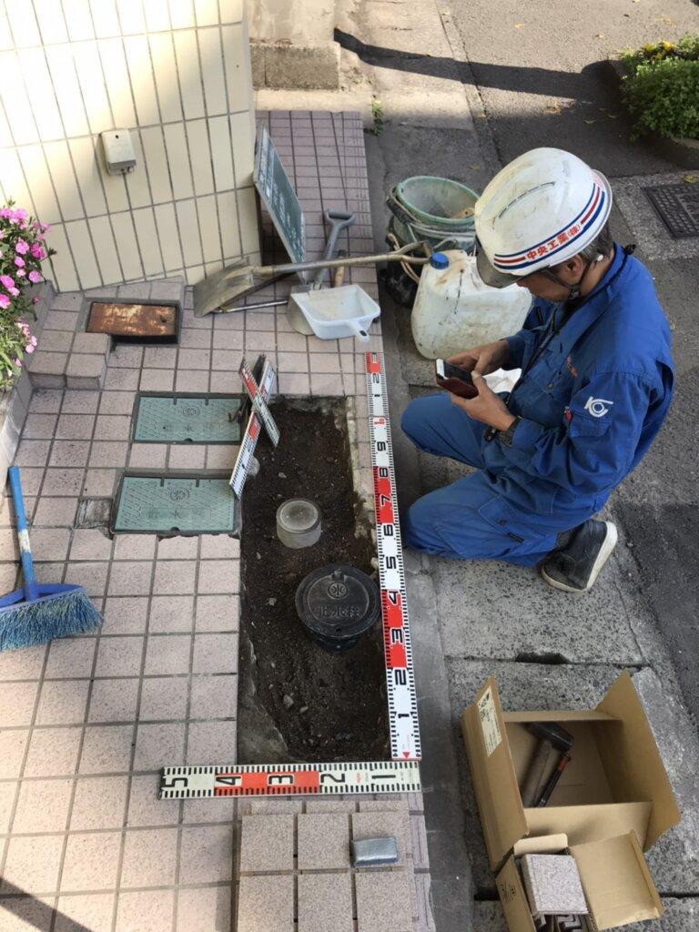 鹿児島 デイサービス スター倶楽部かんまち タイル工事