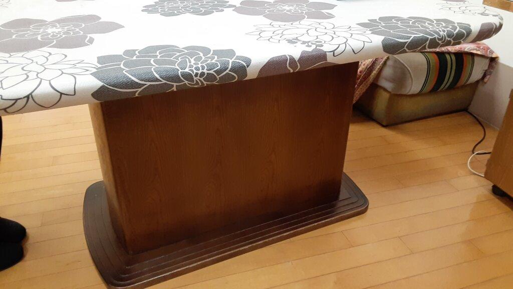 鹿児島 デイサービス スター倶楽部よしの 旧テーブル