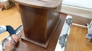鹿児島 デイサービス スター倶楽部よしの テーブル 旧土台