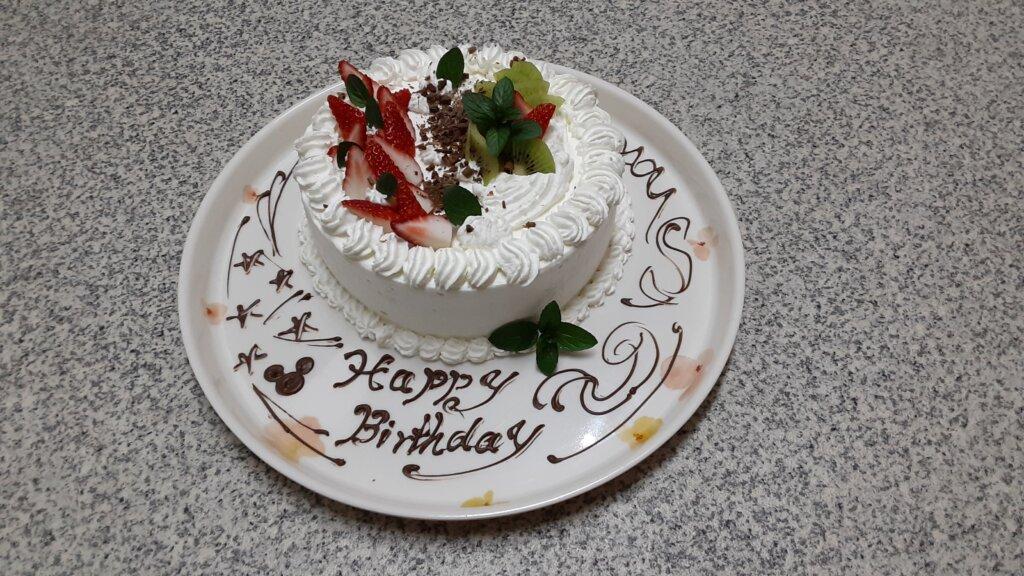 鹿児島 デイサービス スター倶楽部かんまち 3月誕生ケーキ