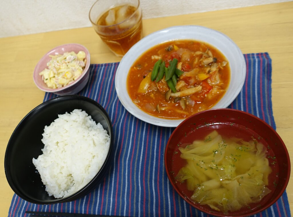 鹿児島 デイサービス スター倶楽部よしの 昼食 手作り
