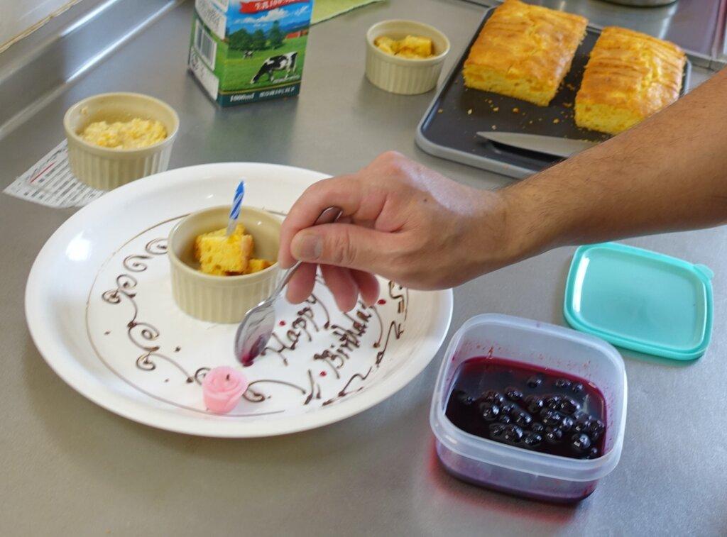 鹿児島 デイサービス スター倶楽部よしの 手作り ケーキ