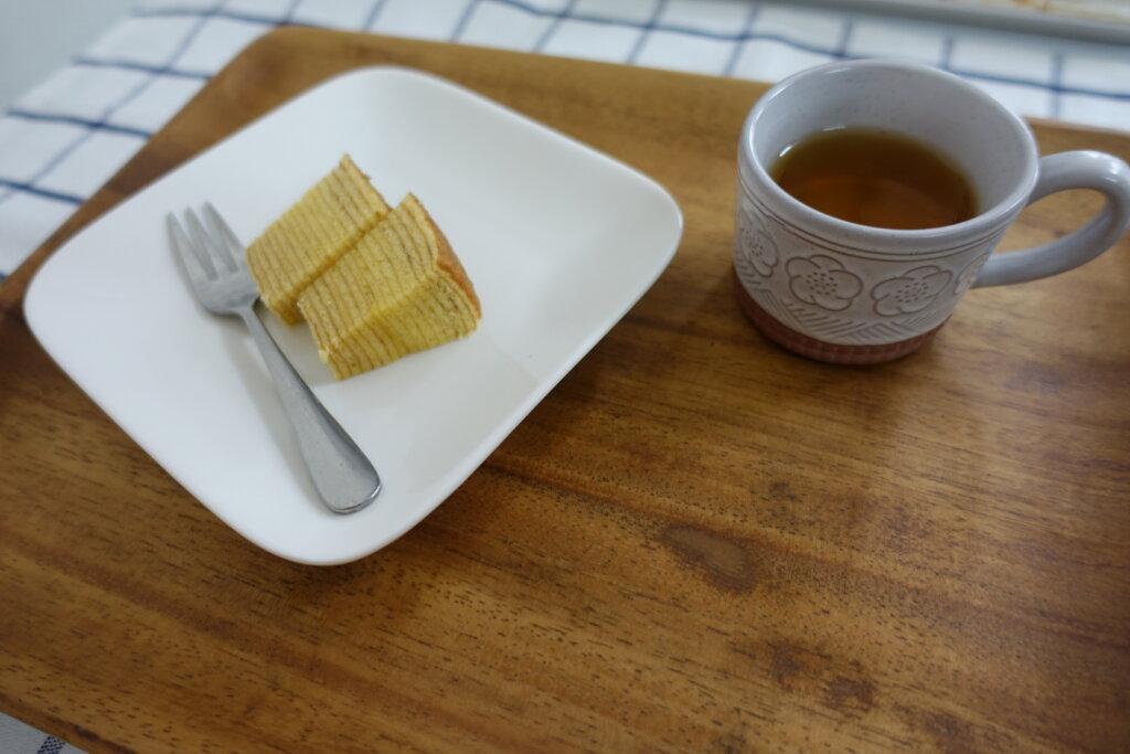 鹿児島 デイサービス スター倶楽部よしの おやつ ティータイム