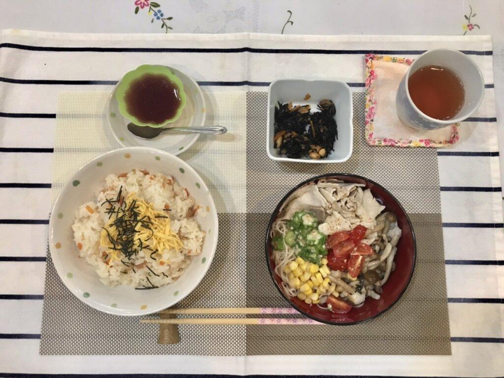 鹿児島 デイサービス スター倶楽部  ランチ ちらし寿司