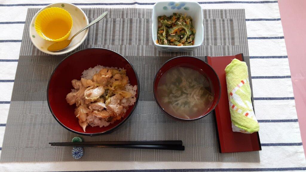 鹿児島 デイサービス スター倶楽部 チキンマヨ丼