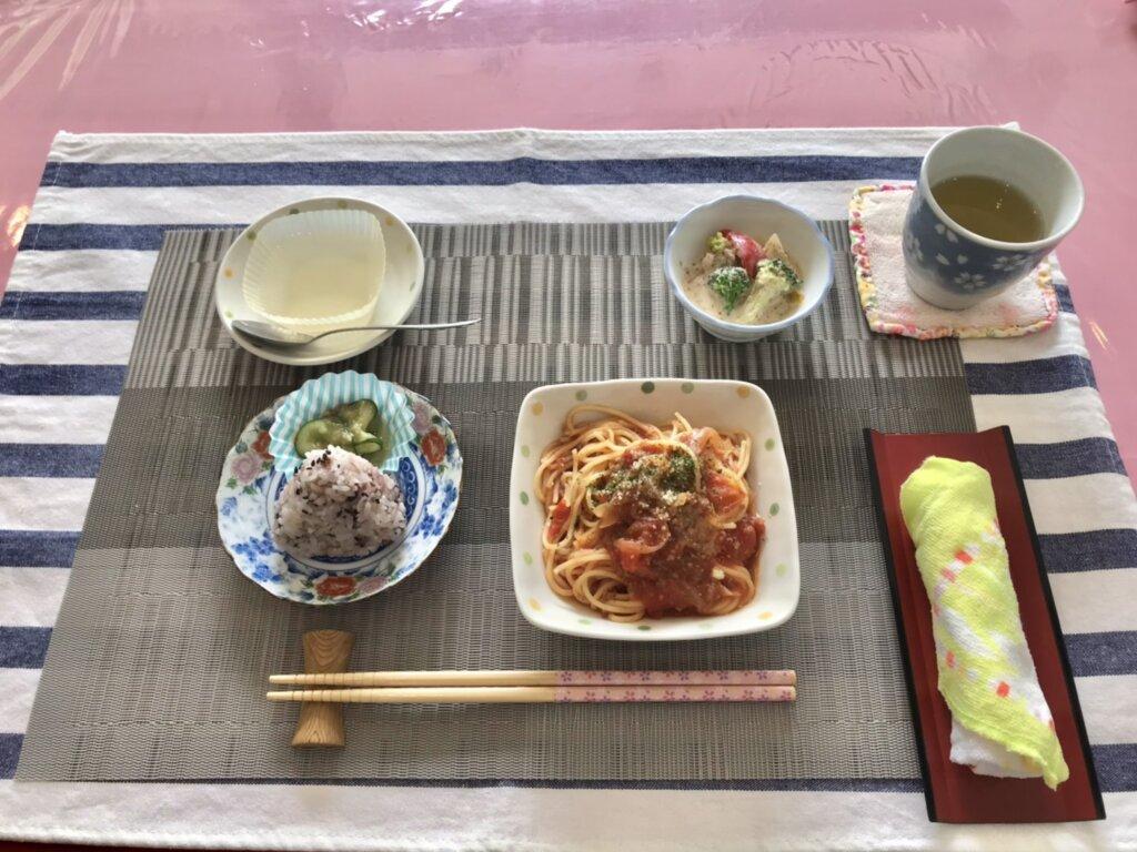 鹿児島 デイサービス スター倶楽部よしの ランチ 昼食