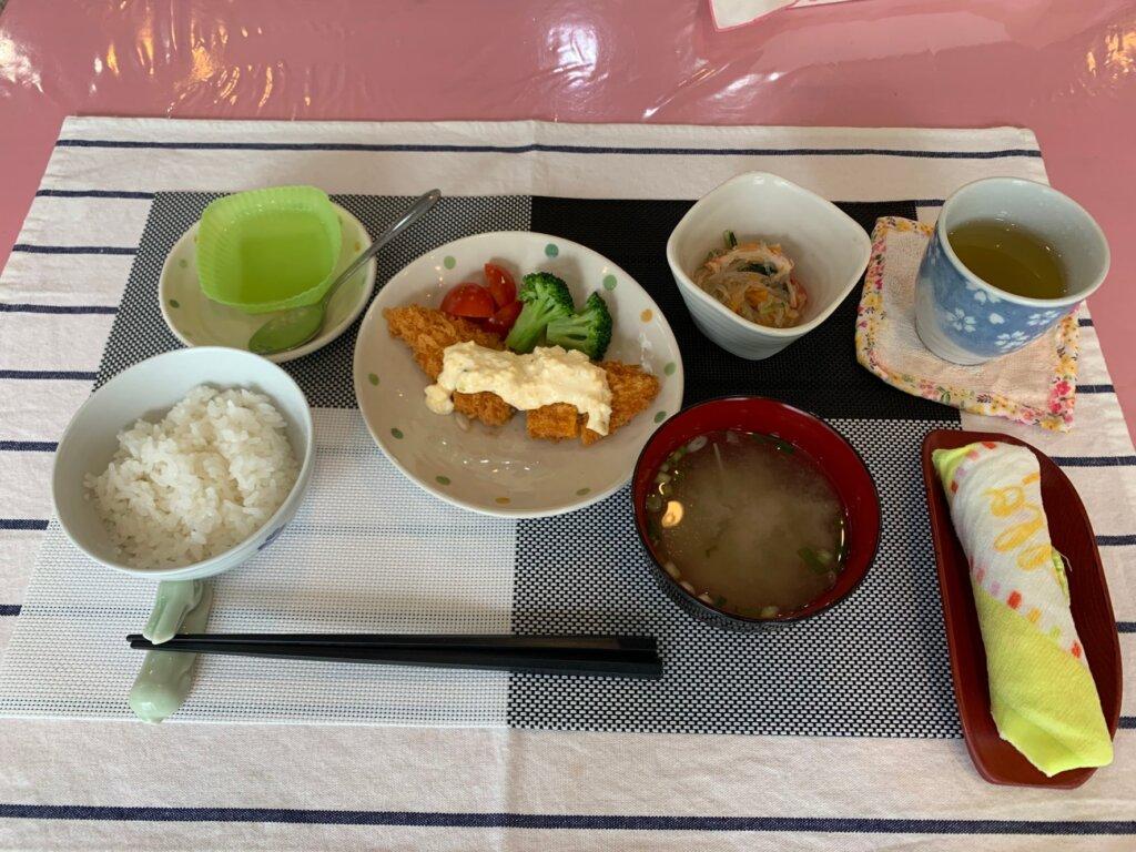 鹿児島 デイサービス スター倶楽部よしの 手作り 昼食