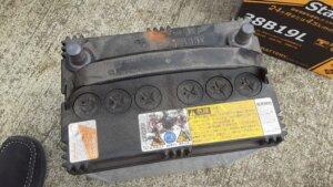 鹿児島 デイサービス スター倶楽部よしの 送迎車 バッテリー交換2