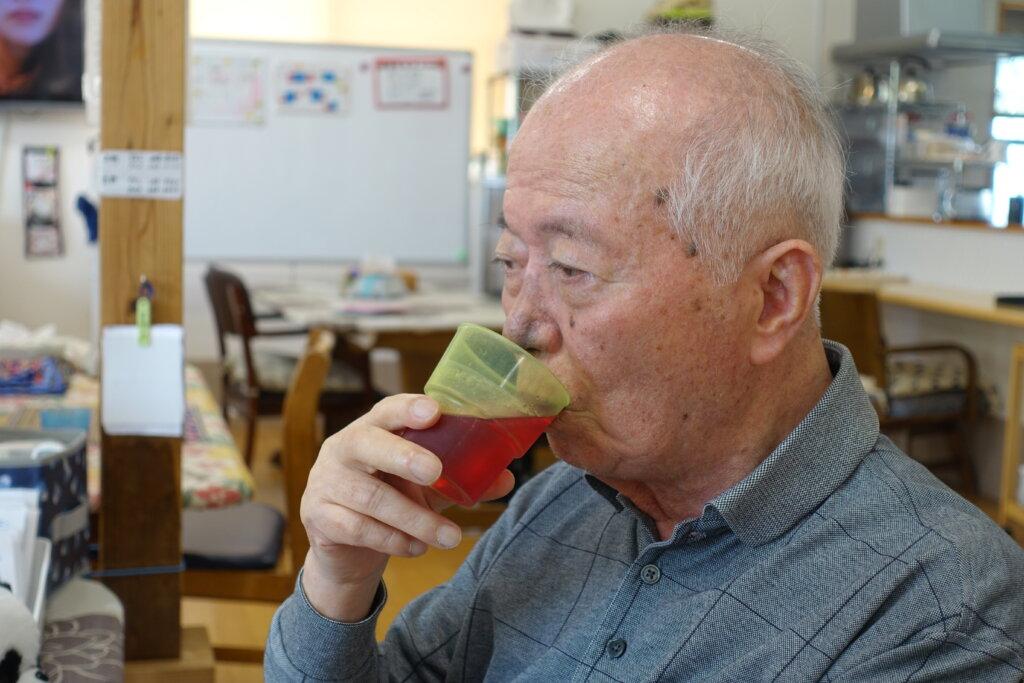 鹿児島 デイサービス スター倶楽部よしの 熱中症 水分補給
