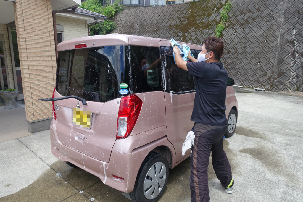 鹿児島スター俱楽部よしの 洗車 送迎車