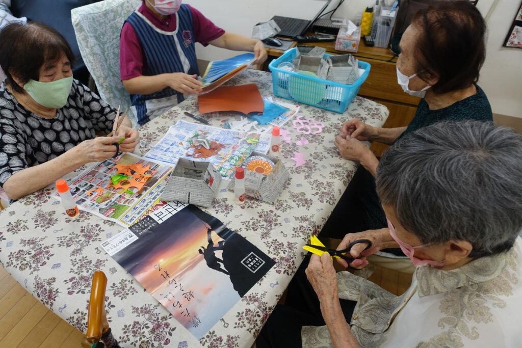 鹿児島スター俱楽部よしの 創作活動 ハサミ