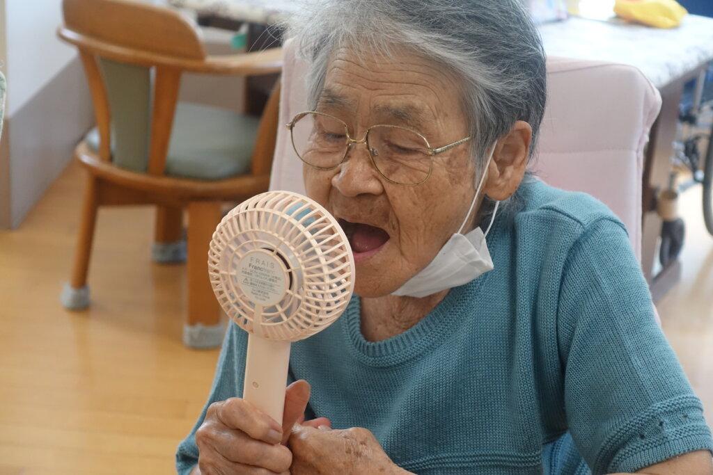 鹿児島スター俱楽部よしの 扇風機 ご利用者様
