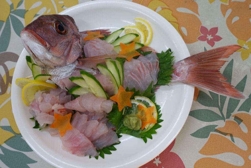 鹿児島スター俱楽部よしの 釣り お刺身