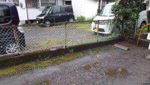 鹿児島 デイサービス 地域密着型通所介護事業 スター倶楽部かんまち 駐車場フェンス