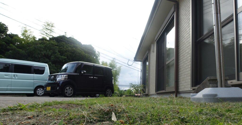鹿児島スター俱楽部よしの 芝刈り 作業