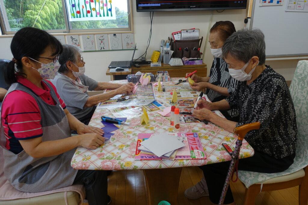 鹿児島スター俱楽部よしの 折り紙 活動