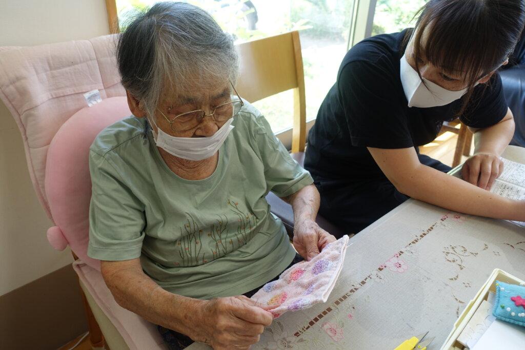 鹿児島スター俱楽部よしの 縫物 活動