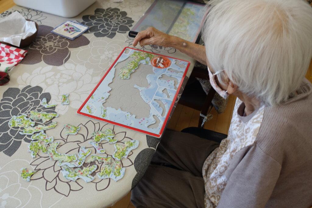 鹿児島スター俱楽部よしの 活動 地図パズル