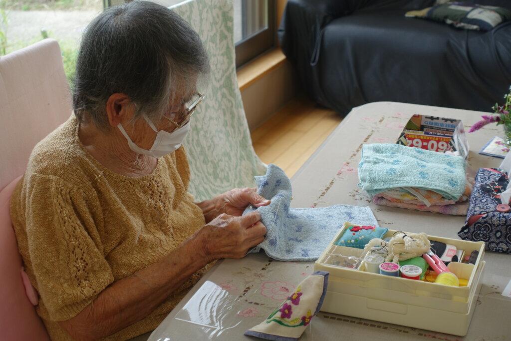 鹿児島スター俱楽部よしの 活動 縫物