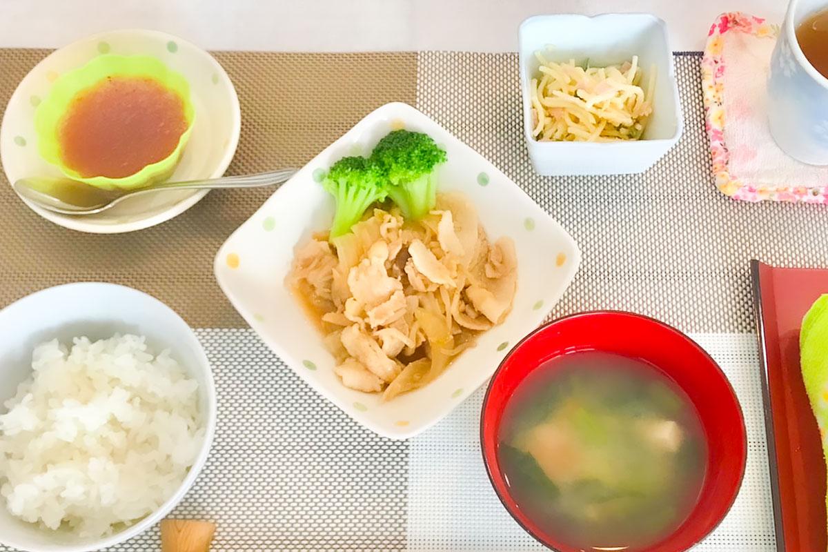 鹿児島 デイサービス 1日の流れ 手作り 昼食 お昼ご飯 株式会社デイサポートステーション