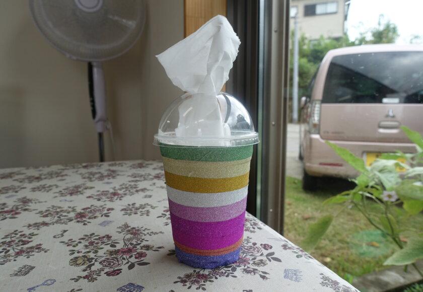 鹿児島スター俱楽部よしの コーヒーカップ ティシュ箱