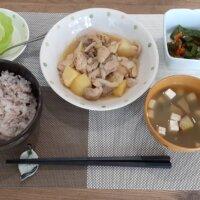 鹿児島 デイサービス 地域密着型通所介護事業 スター倶楽部 ランチ 鶏とジャガイモのガーリック炒め